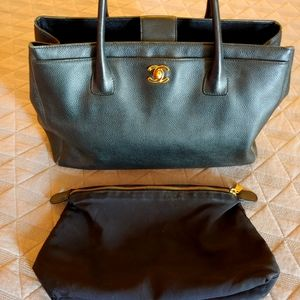 Authentic Chanel tote handbag